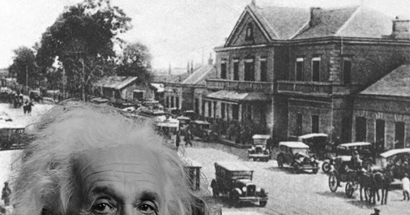 El día que Albert Einstein pasó por Rosario