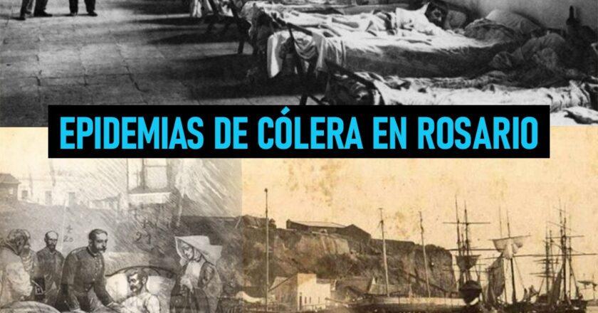 Las epidemias de cólera que azotaron Rosario