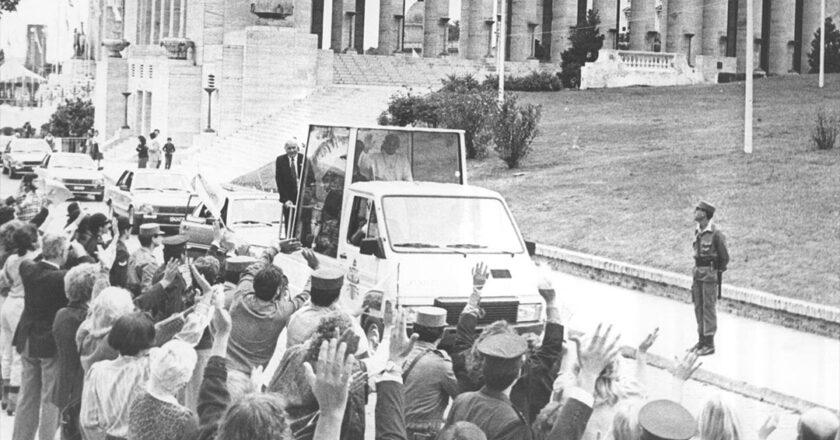 El Papa Juan Pablo II en Rosario
