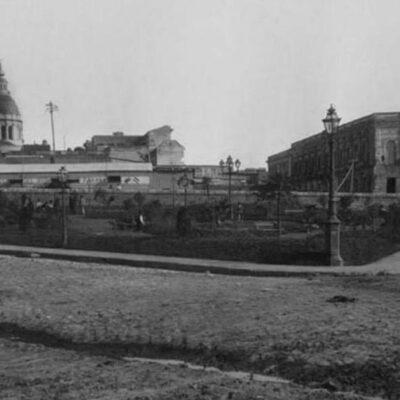 ¿Qué había antes donde está el Monumento a la Bandera?