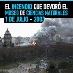 A 18 años del incendio que devoró el Museo de Ciencias Naturales