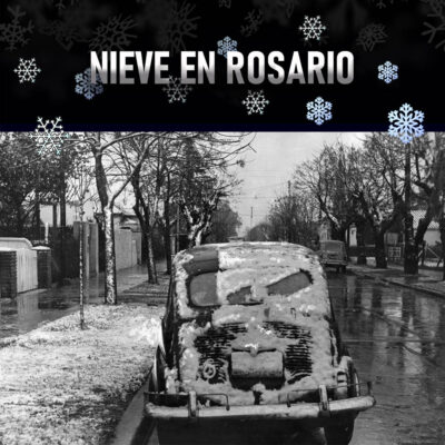 La última vez que nevó en Rosario