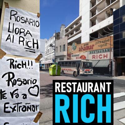El histórico restaurant Rich