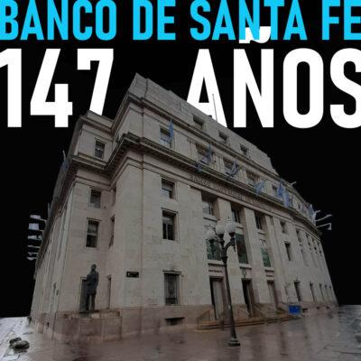 El Banco de Santa Fe cumple 147 años